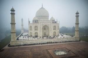 Google Street View of the Taj Mahal. Photo: Google
