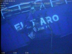 Stern of the El Faro. Photo: NTSB