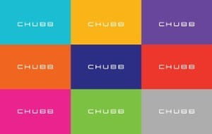 New Chubb logo colors