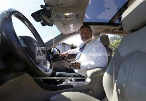 driverless car passenger self driving