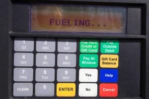 gas pump credit card reader