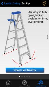 NIOSH ladder safety mobile app
