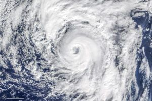 Satellite image of Hurricane Alex. Photo: NASA