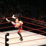 Australia, Melbourne. 10/11/2007 WWE bout.