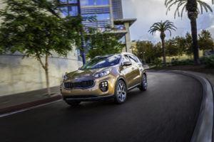Kia 2017 Sportage SX Turbo (PRNewsFoto/Mercury Insurance)