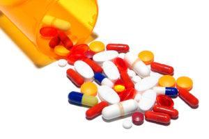 Pharmaceutical Prescription Medicine Pills Cocktail