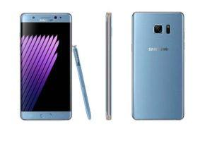 Recalled Samsung Galaxy Note7 phone. Photo: CPSC