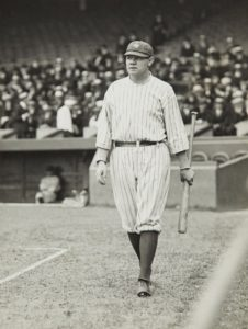 Babe Ruth, 1912, photo taken by Paul Thompson