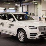 Drive Me,  an autonomous driving experiment, began on 9/9/2016. Credit: Volvo Car Group