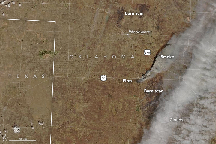 Forecasters Warn Of Rare Life Threatening Oklahoma Wildfire Weather