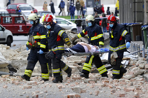 Croatia Quake Injures 17 Amid Partial Coronavirus Lockdown