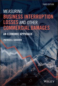 Book Cover of third edition of Measuring Business Interruption Losses and Other Commercial Damages