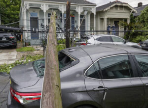 Tornado Rips Off Roofs, Knocks Out Power in New Orleans 1