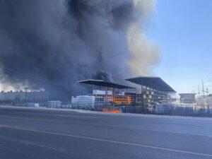 Dozens of Fire Units Battle Blaze at Phoenix Recycling Yards 1