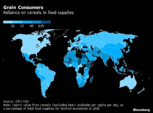 Global Food Costs Surge to Decade High as Drought Parches Crops 1